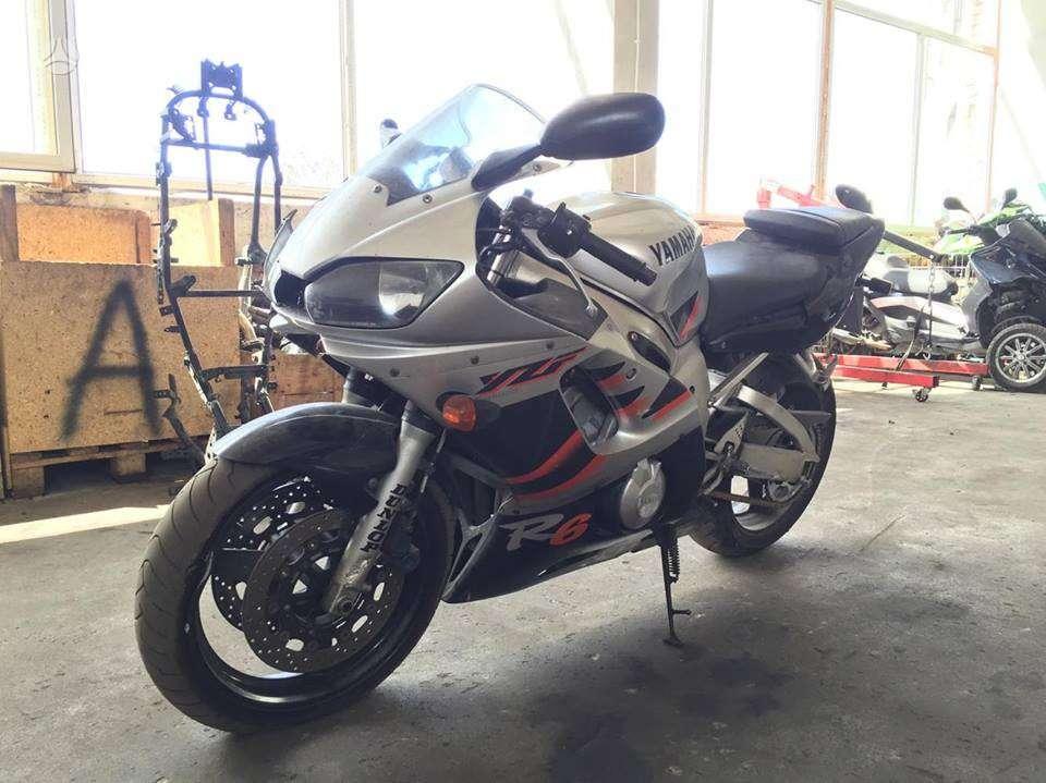 Yamaha R6, sportiniai / superbikes