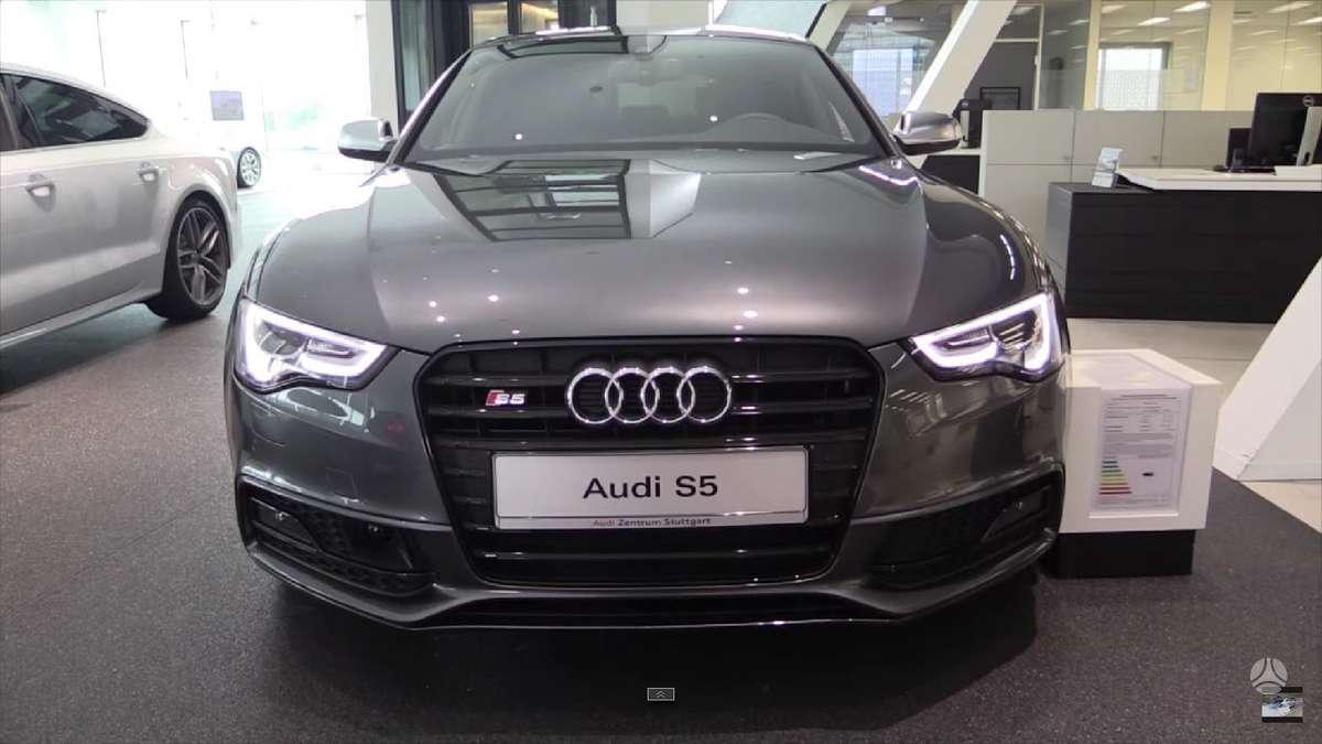 Audi S5. !!!! tik naujos originalios dalys !!!!  !!! naujos