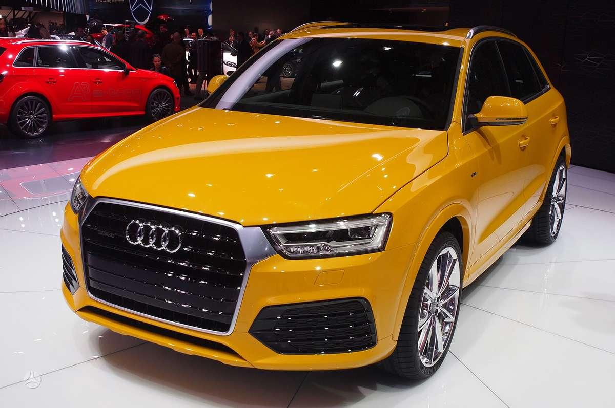 Audi Q3. !!!! tik naujos originalios dalys !!!!  !!! naujos