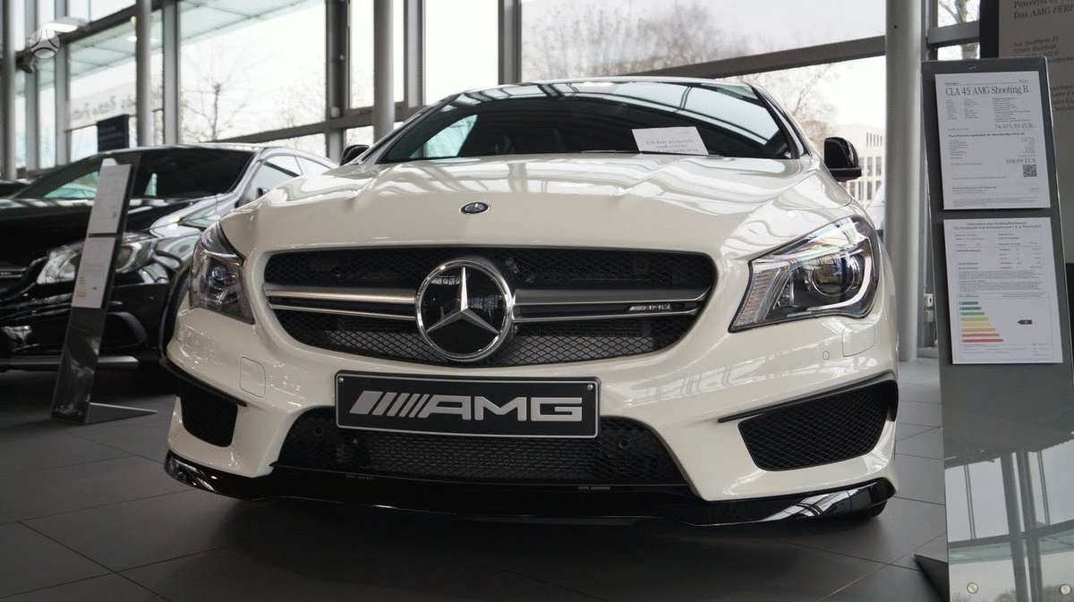 Mercedes-Benz CLA45 AMG. !!!! naujos originalios dalys !!!! !!!