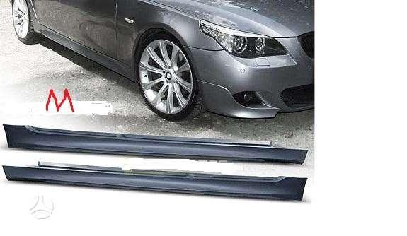 BMW 5 serija. M style soniniai slenksciai-gruntuoti [ pp] -