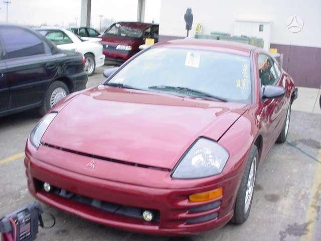 Mitsubishi Eclipse. Visas automobilis dalimis yra daugiau sios