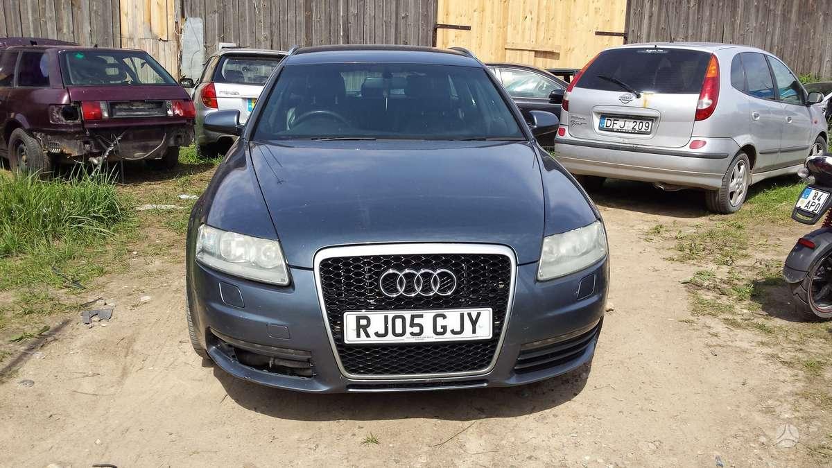 Audi A6. Automobilis parduodamas dalimis. galime pasiūlyti į
