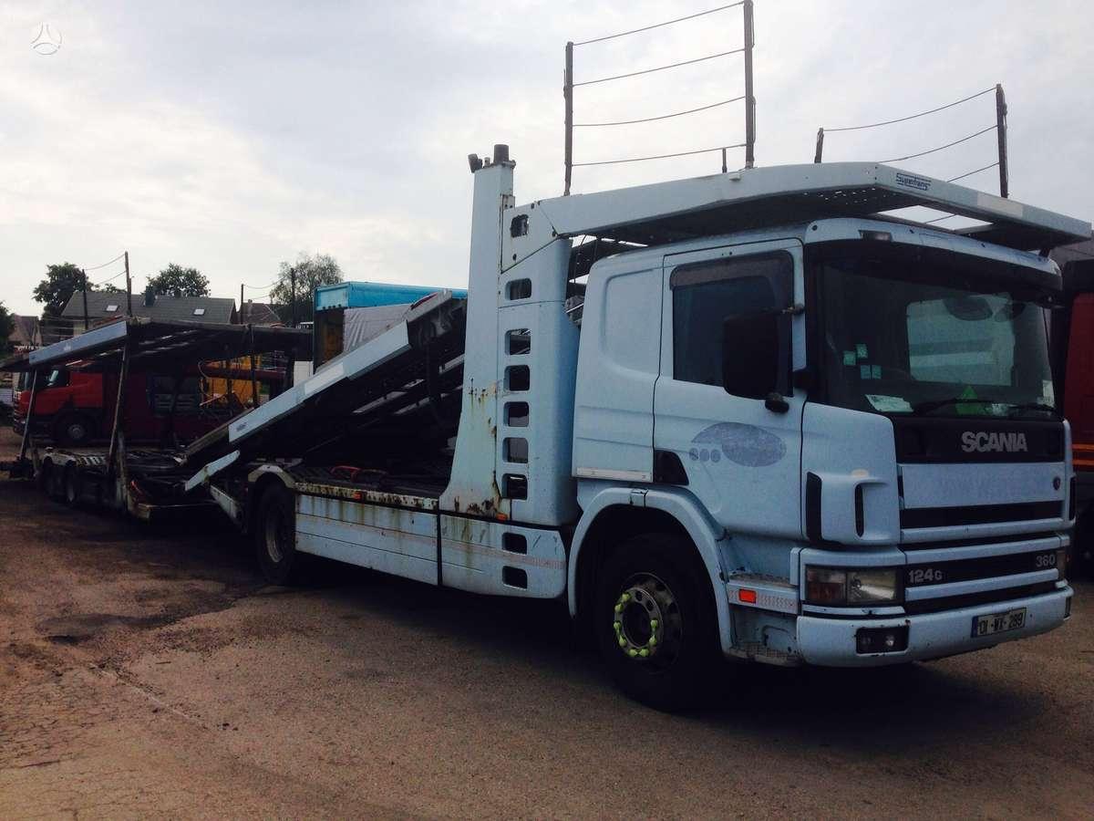Scania 124G, autovežiai