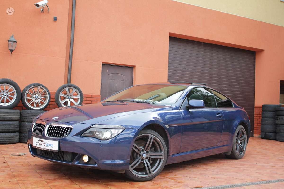 BMW 645 dalimis. Bmw 645i coupe 2004m.  bmw 630i 2006m. bmw