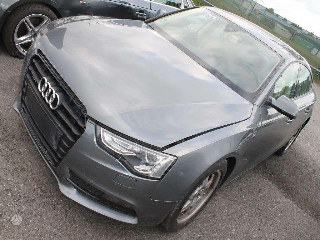 Audi A5. Komplektinis priekis a5 3.0tdi 2014m. ksenonai, taip