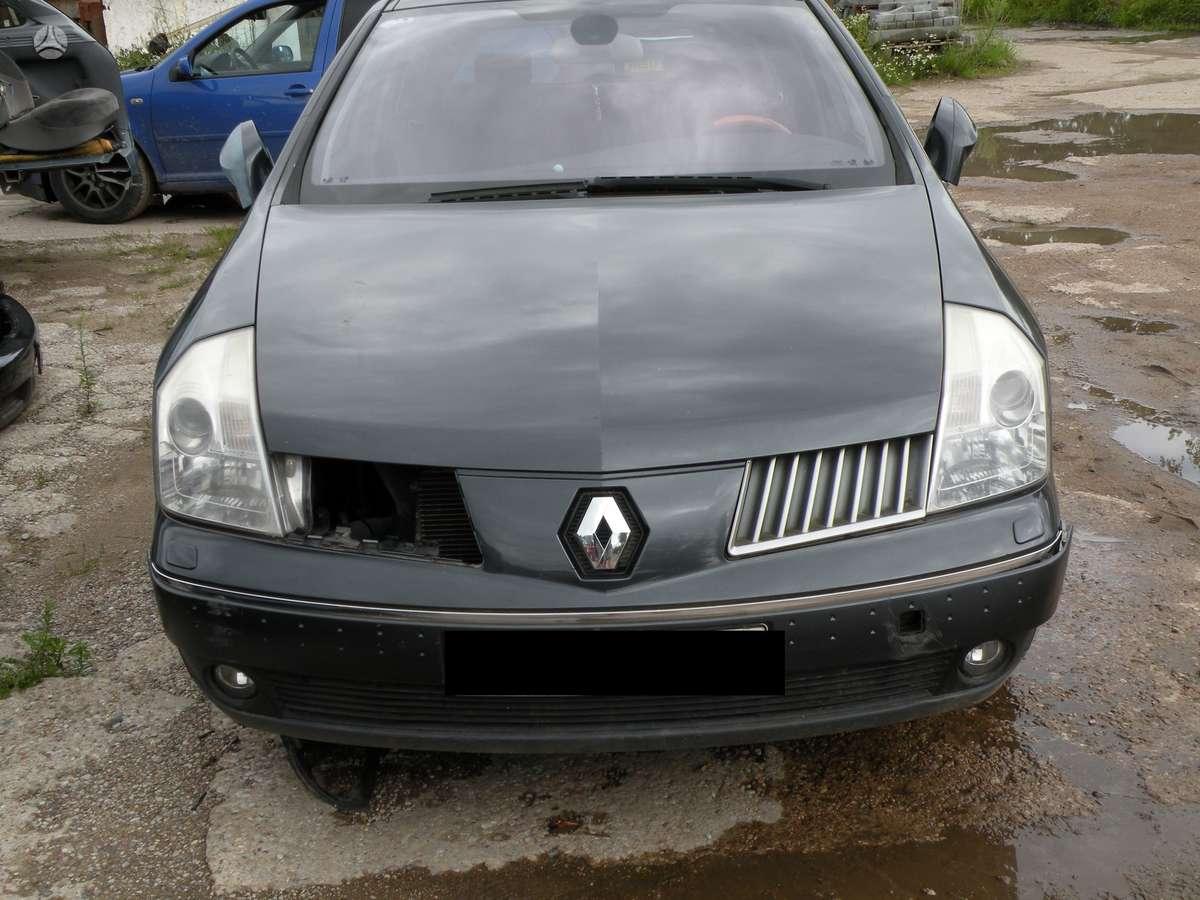 Renault Vel Satis. R18 ratlankiai odinis salonas variklis