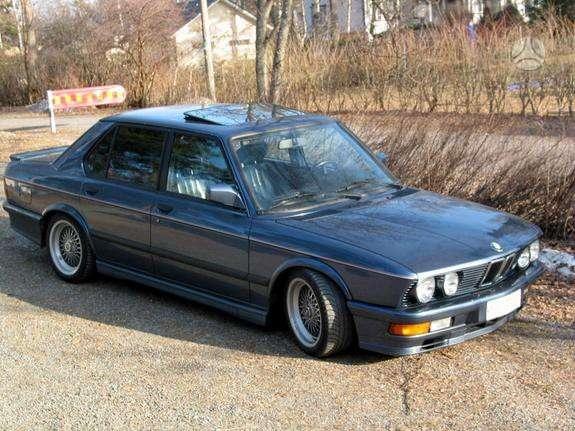 BMW 5 serija. turime ir daug bmw 5 serijos (1983-