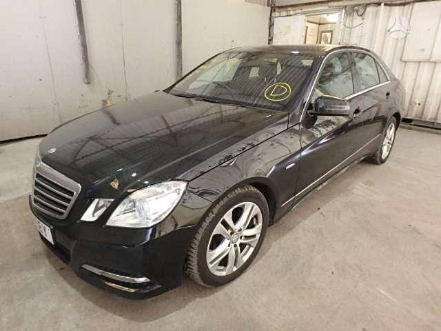 Mercedes-Benz E klasė. Mercedes eklass 3.0dyzelis automatas