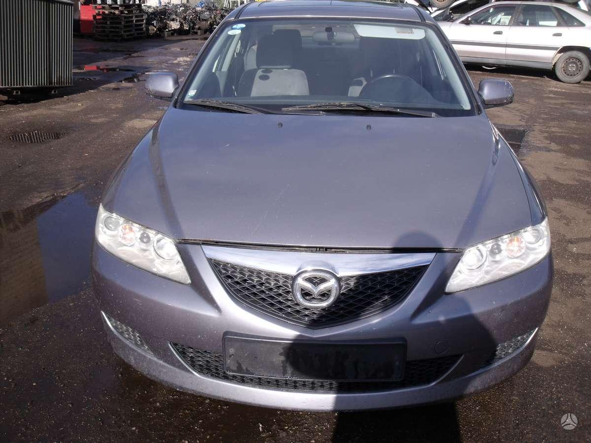 Mazda 6. Dalimis