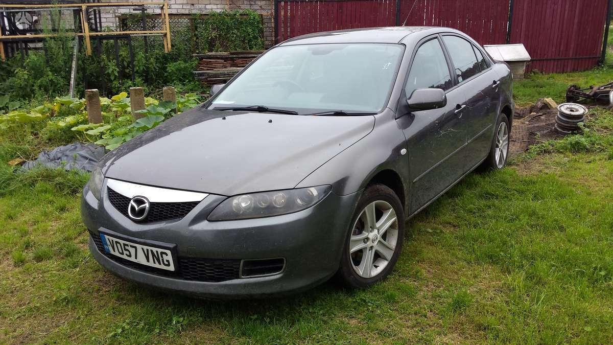 Mazda 6. Automobilis parduodamas dalimis. galime pasiūlyti į