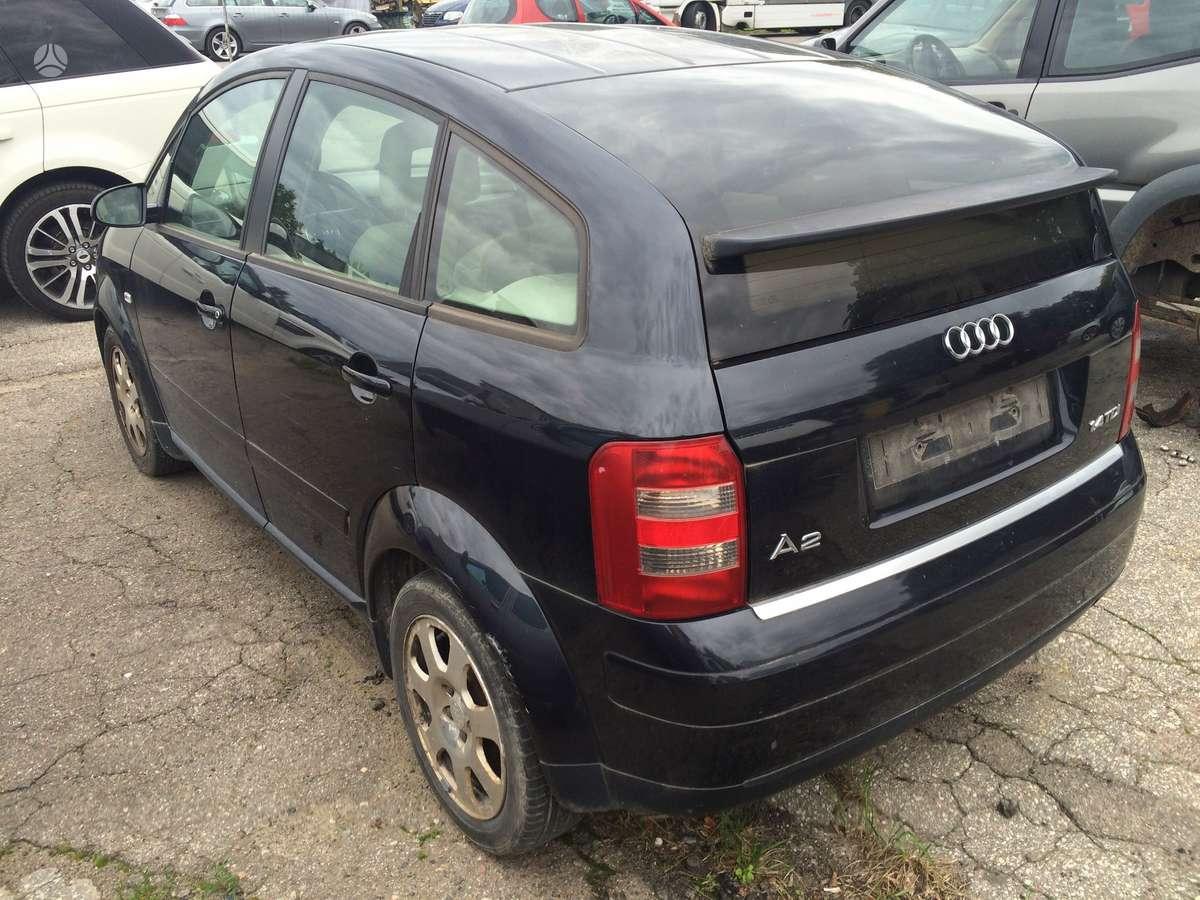 Audi A2. Is italijos