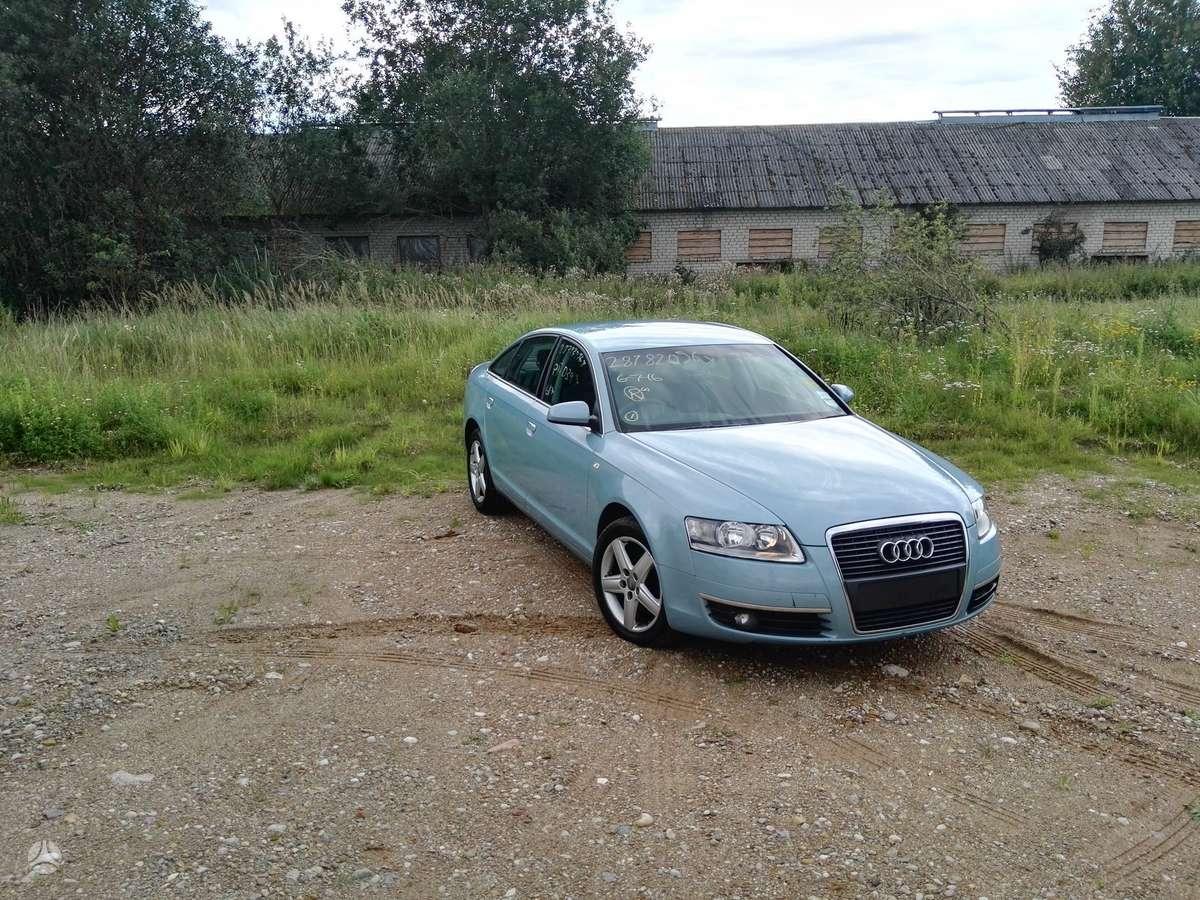 Audi A6 dalimis. Dalimis, mazai begusi.   2.0  tfsi  automobilis