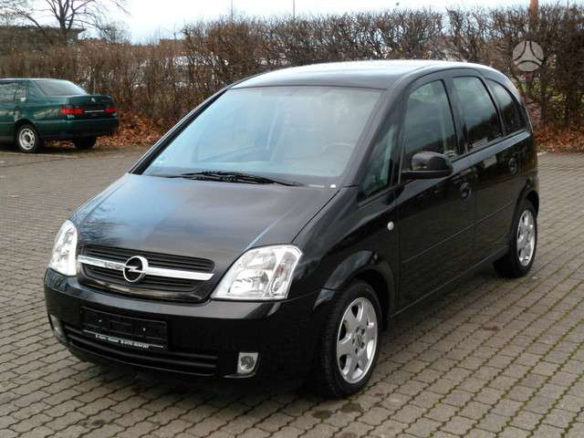 Opel Meriva. Europinis modelis.