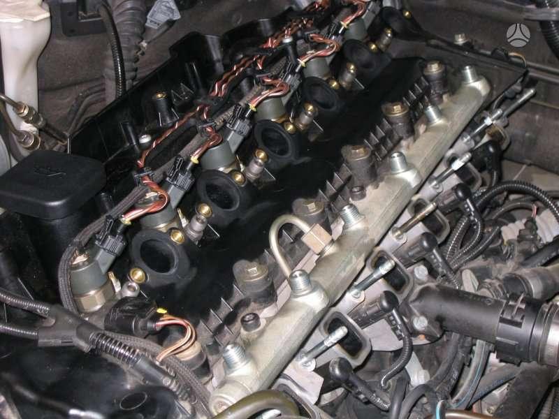 BMW 5 serija dalimis. Bmw dyzeliniai varikliai n47, m57, m57n