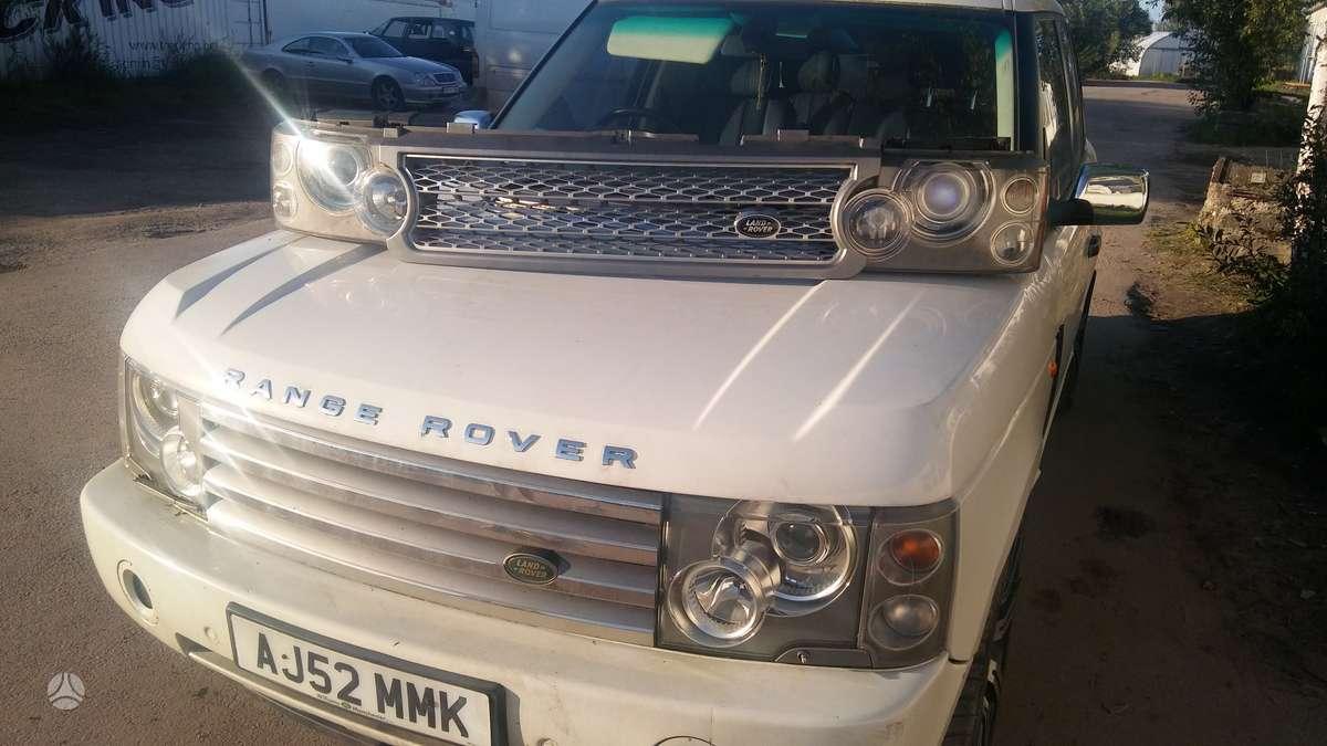 Land Rover Range Rover. Dalis siunciu....detali vysylaju