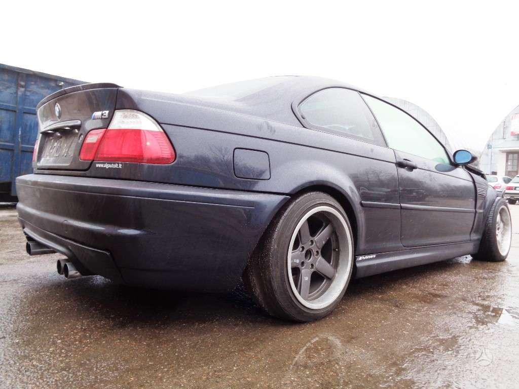 BMW M3. Bmw e46 m3 coupe 2002m. 252kw dalimis    harman