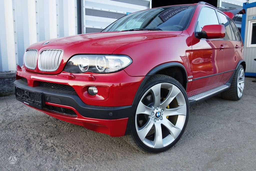 BMW X5 4,6is ir 4,8is APDAILOS
