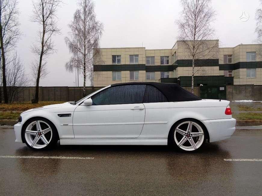 BMW M3. Bmw e46 m3 cabrio 2004m. smg  *harman cardon *