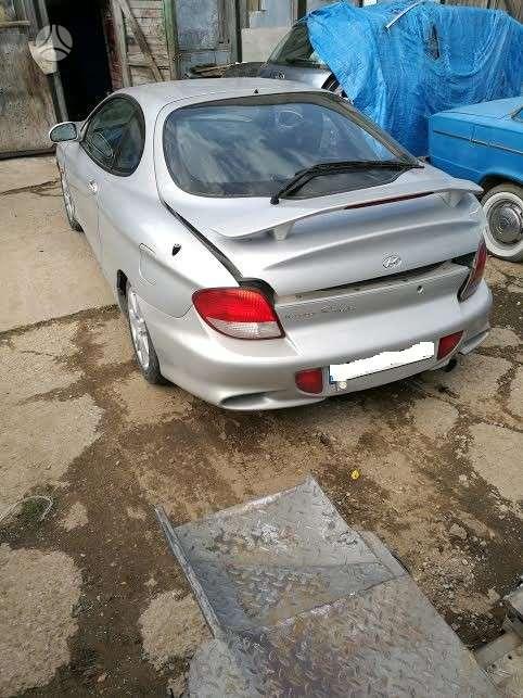 Hyundai Coupe. 1.6 16v variklis  europinis modelis.