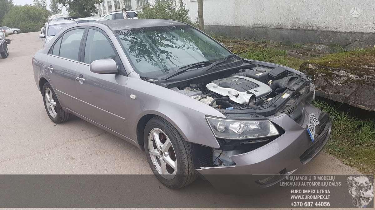 Hyundai Sonata dalimis. Automobilis ardomas dalimis:  запасные ч