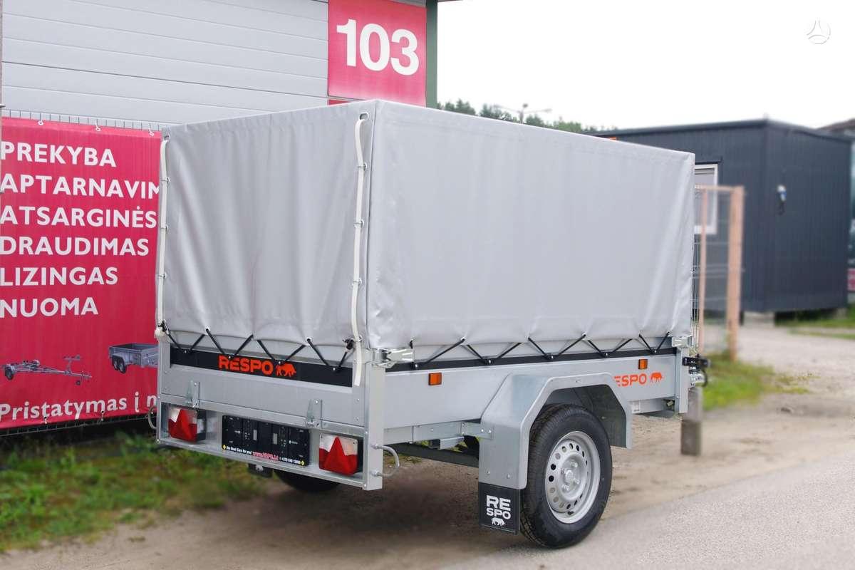 Respo 750M201L125, lengvųjų automobilių priekabos
