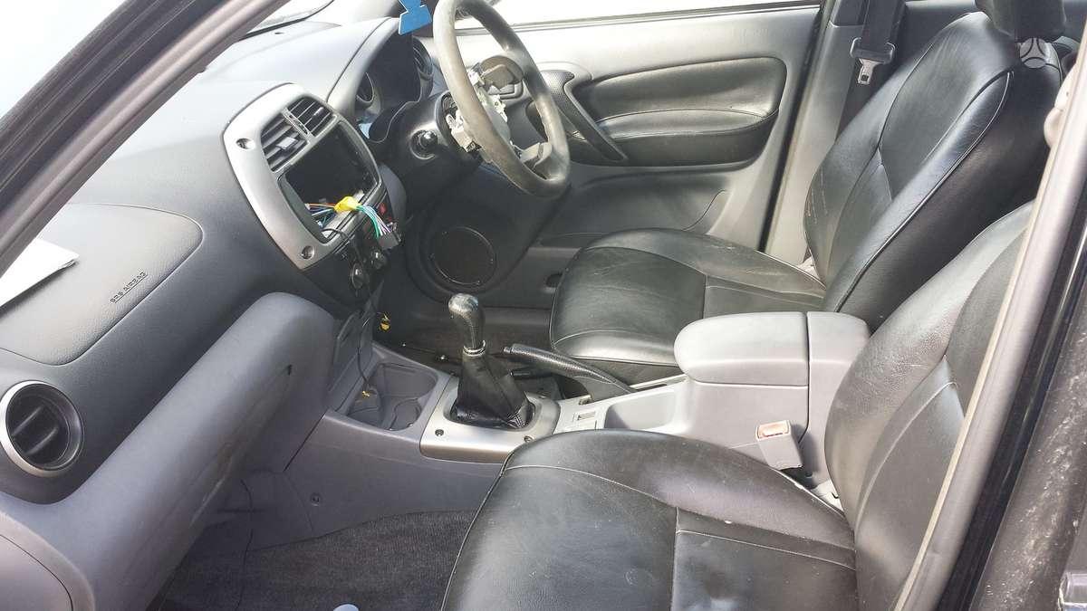 Toyota RAV4 dalimis. Odinis salonas, geras rav-4 , tik anglas)