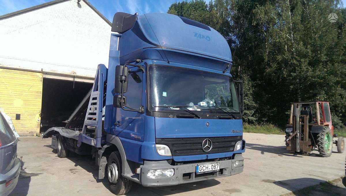 Mercedes-Benz Atego 2, sunkvežimiai