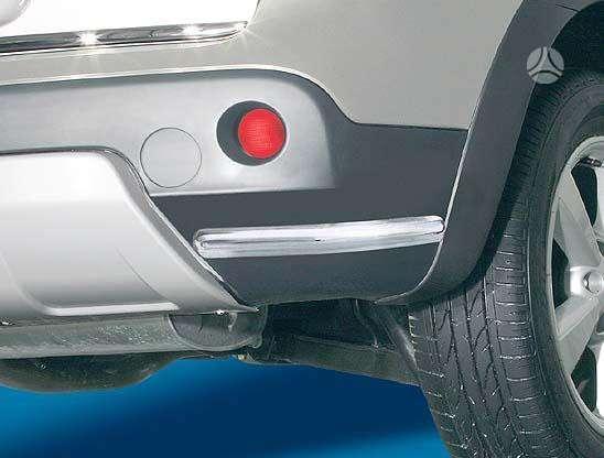 Nissan Qashqai. Nissan qashqai galinio buferio kraštų apsaugos (