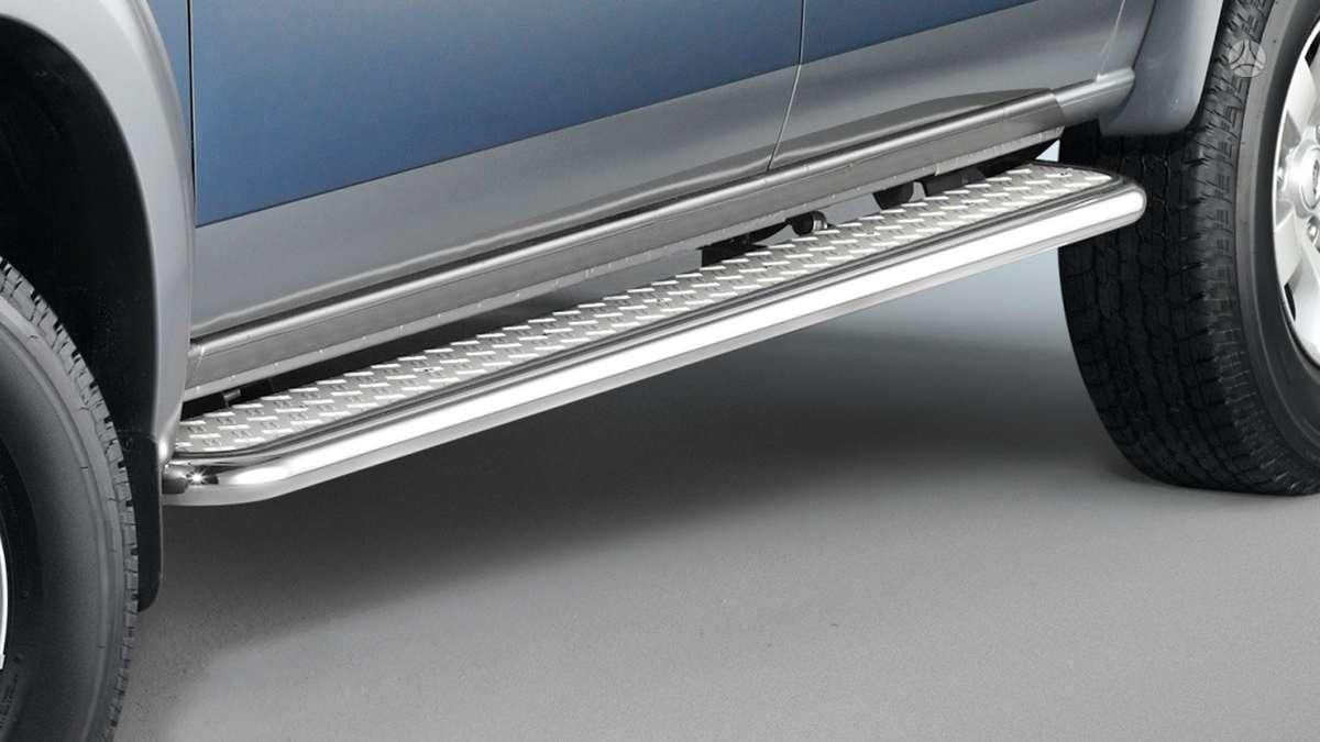 Mazda BT-50. Mazda bt50 slenksčiai su pakopa. 42 mm vamzdis, nerū