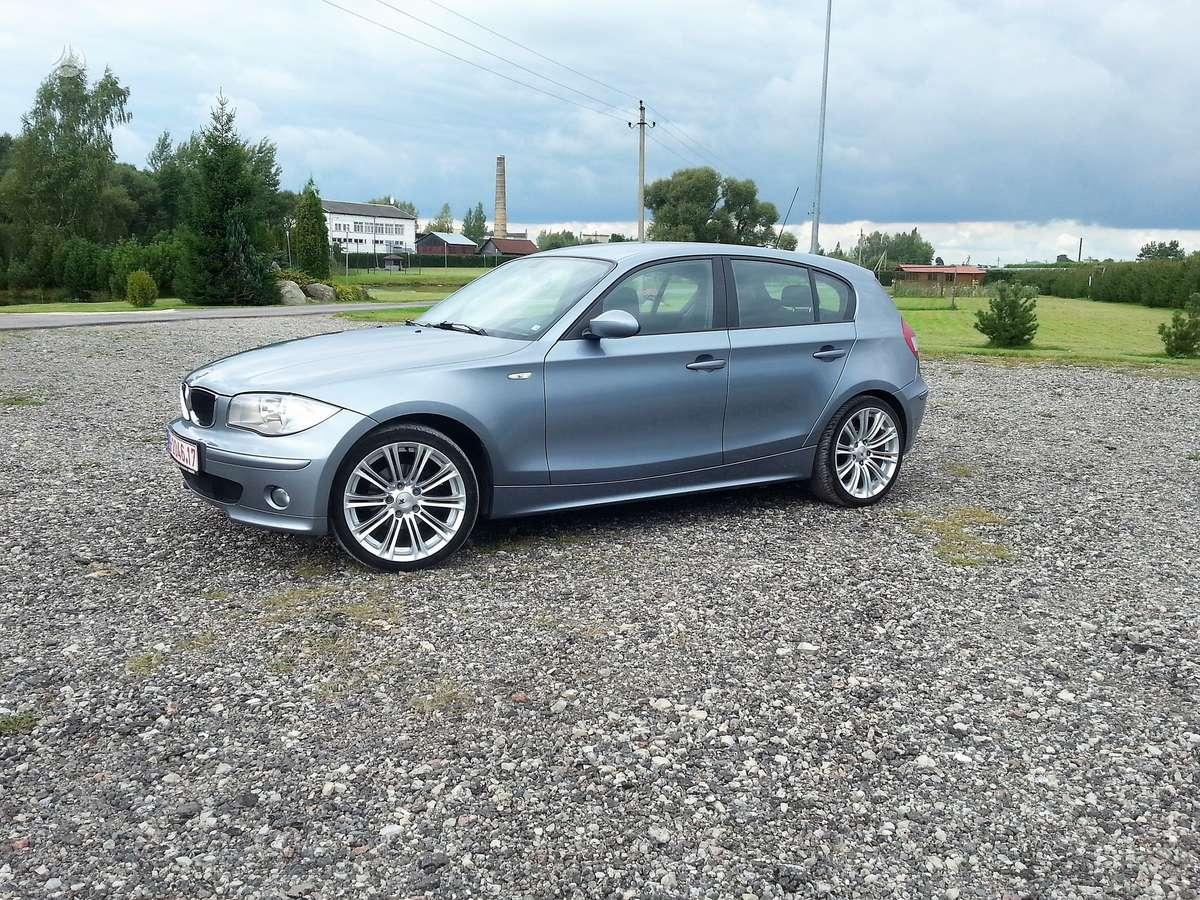 BMW 116, 1.6 l., hečbekas