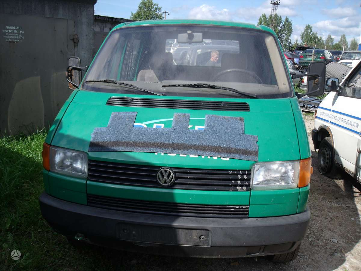 Volkswagen Transporter. Dalimis
