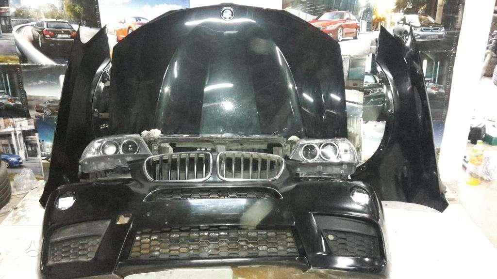 BMW X3 dalimis. Bmw f30,f31 originalios naudotos detales.