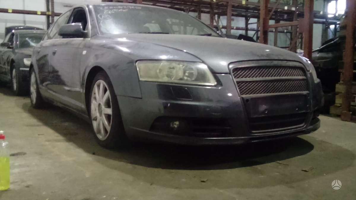 Audi A6 dalimis. Kuriasi vaziuoja