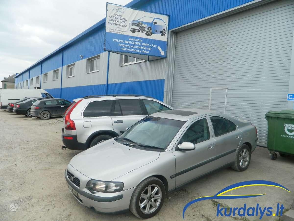 Volvo S60. Turime ir daug kitų automobilių dalimis. volvo s60