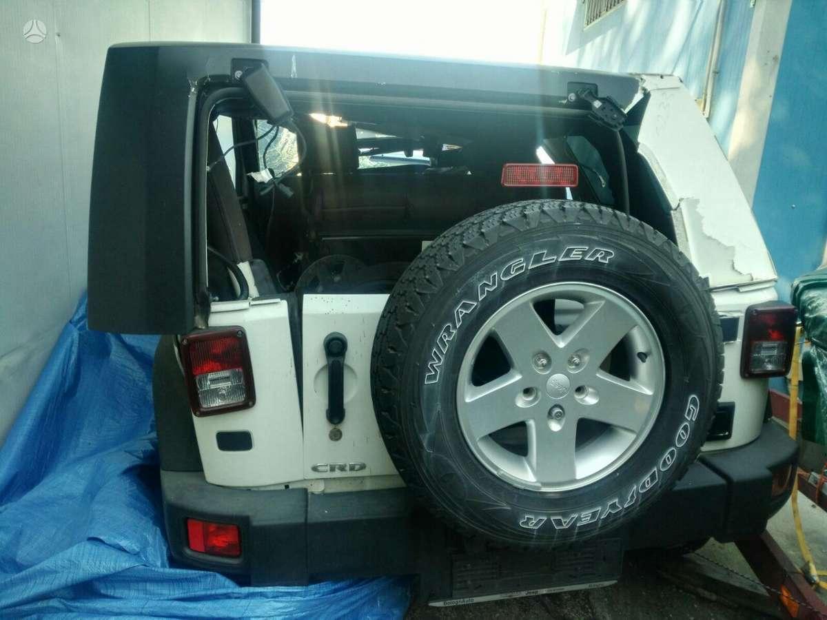 Jeep Wrangler. Europa. rida 60000km.siunčiame dalis į kitus