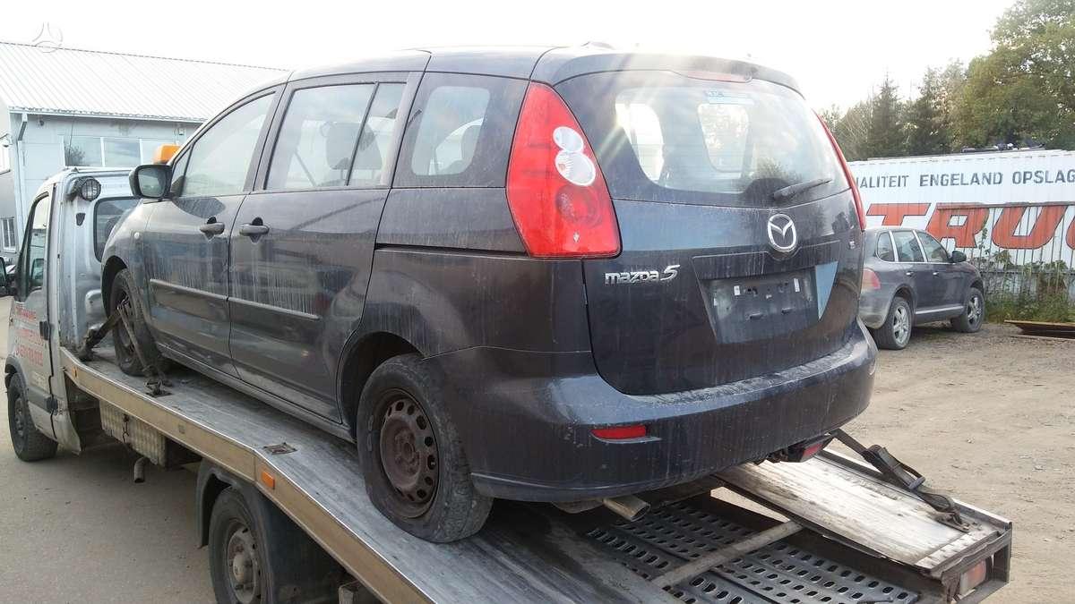 Mazda 5, 1.8 l., universalas