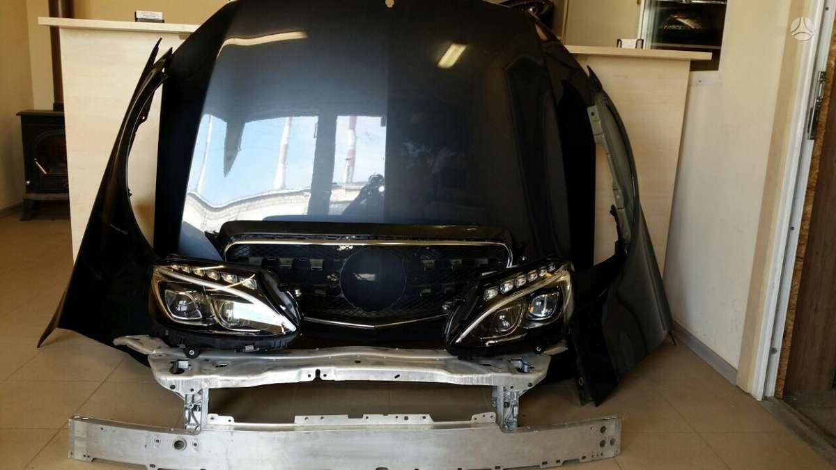 Mercedes-Benz C klasė. Full led komplektiniai žibintai europa