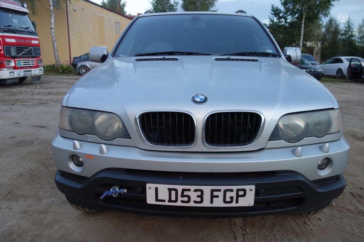 BMW X5 dalimis. Bmw e53 x5 3,0d 2003m.  spalva: titansilber