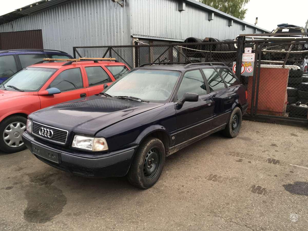 Audi 80. Yra ir 66kw variklis uab