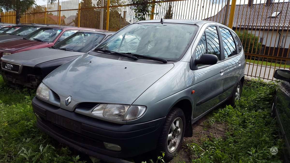 Renault Scenic dalimis. Turime ir daugiau įvairių markių