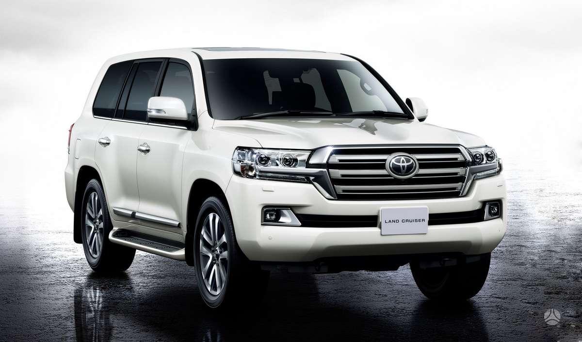 Toyota Land Cruiser. Naujų originalių automobilių detalių už