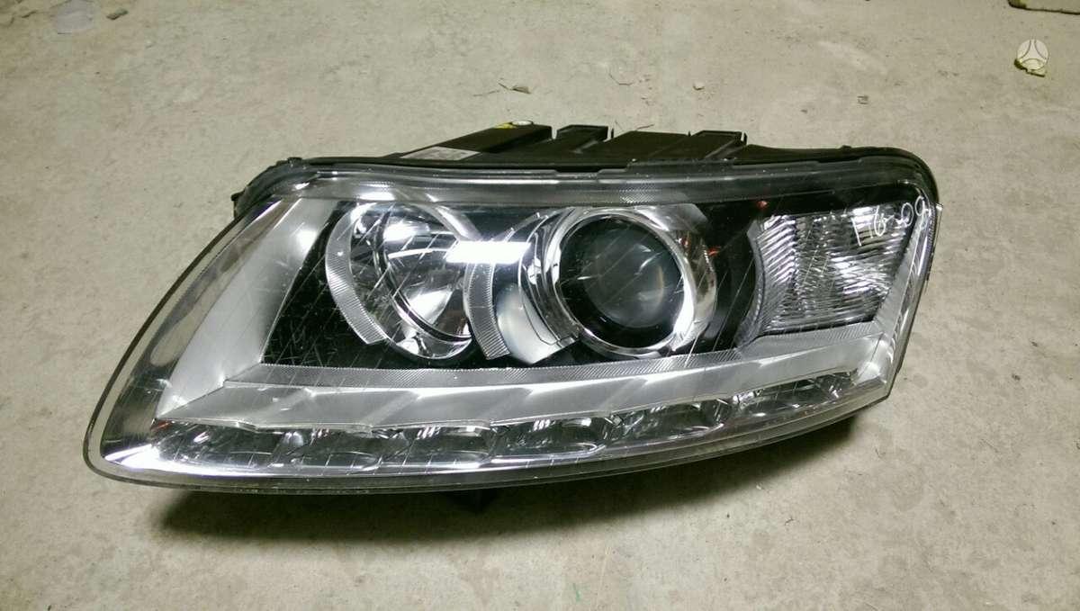 Audi A6. Tik kebulo dalys