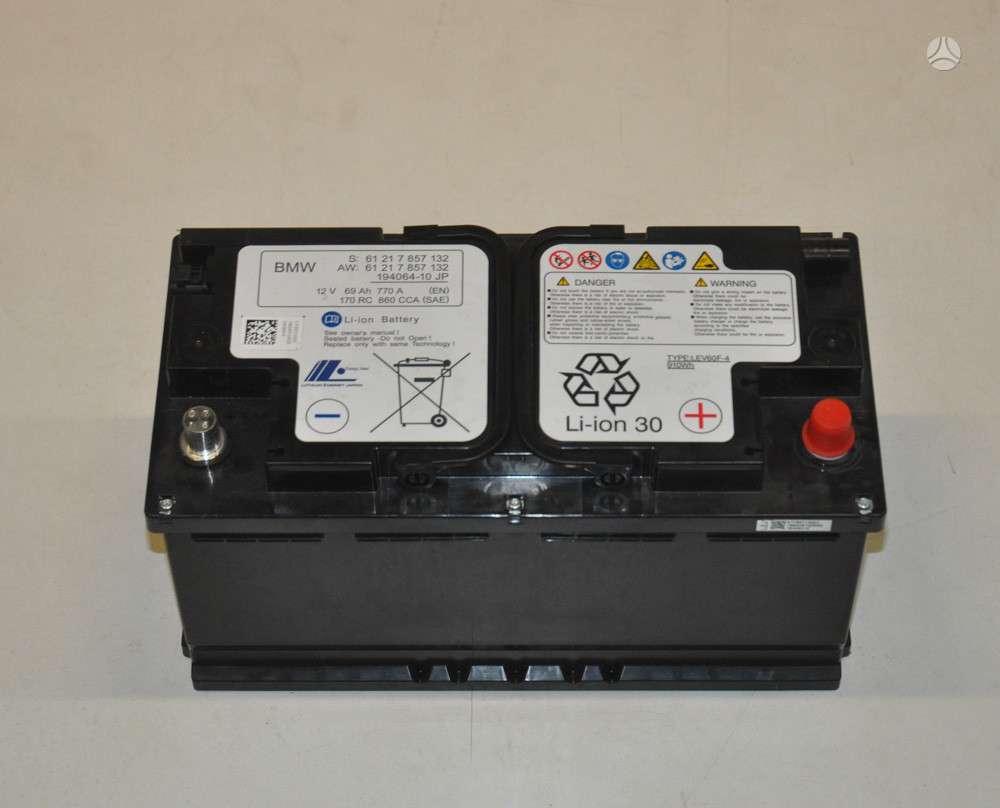 BMW M3. Nauja li-ion baterija bmw m3-m4 modeliams bmw s:61 21