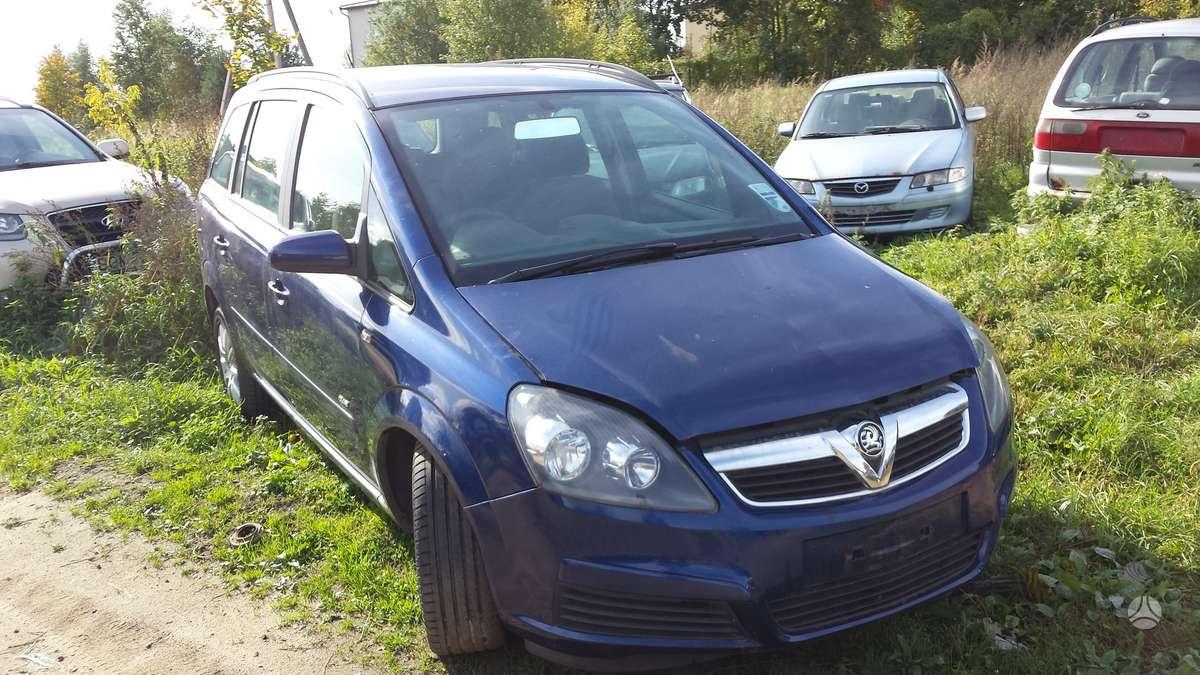 Opel Zafira. Automobilis parduodamas dalimis. galime pasiūlyti į