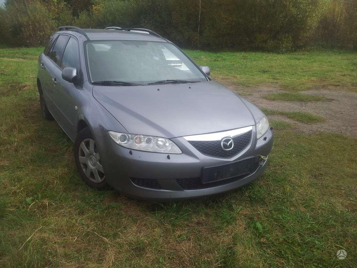 Mazda 6. Galimas detalių persiuntimas į kitus miestus. ratų