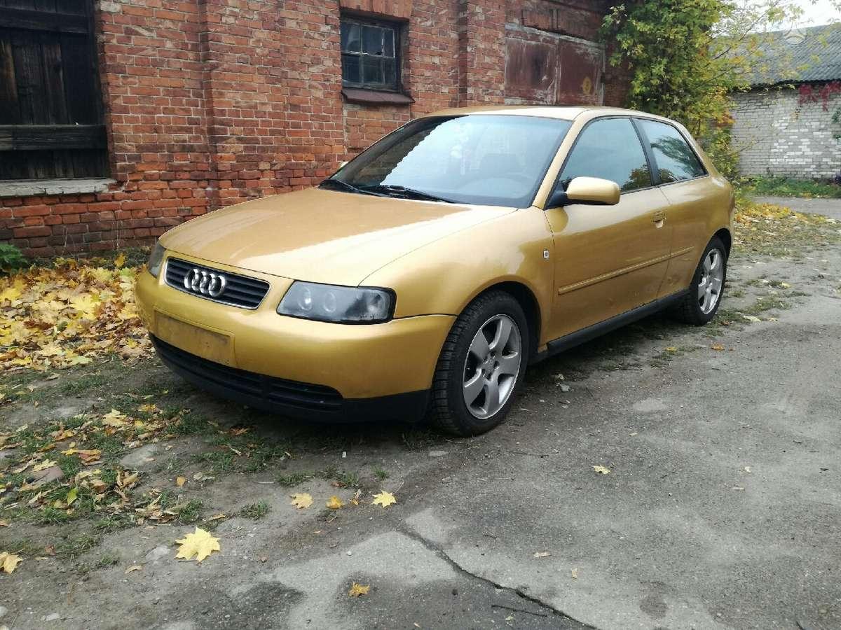 Audi A3 dalimis. Audi a3 1.8 92kw agn atomatas dlr dalimis