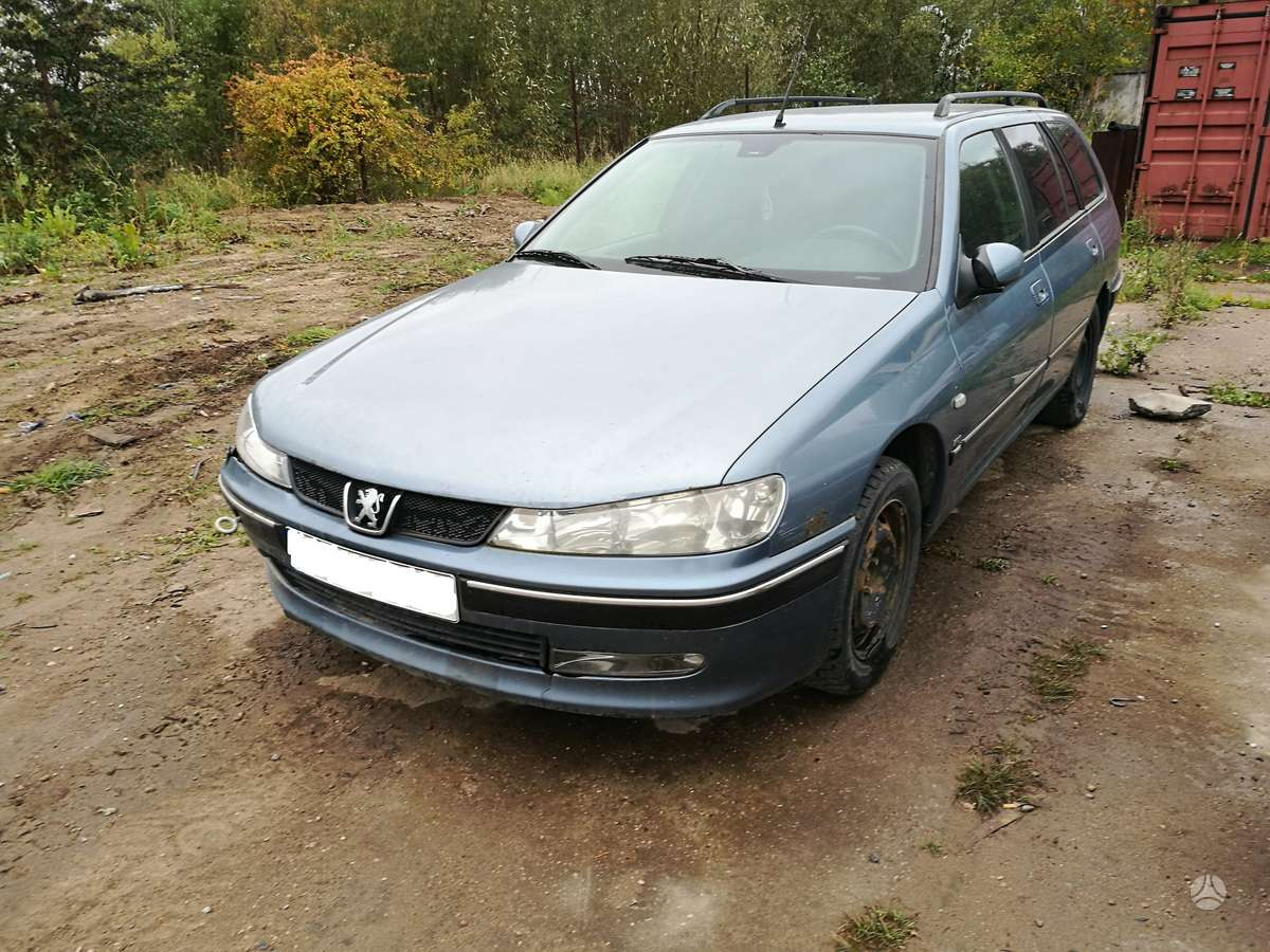Peugeot 406. Kablys