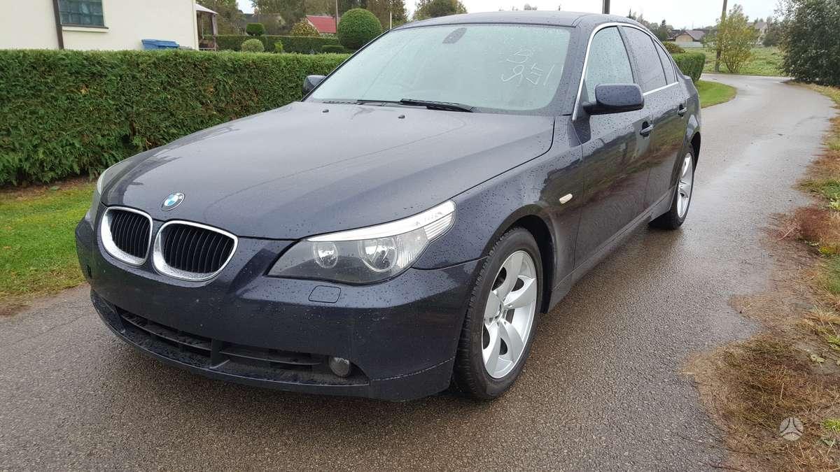 BMW 520. Variklis dalimis,lieti ratai su gerom m+s padangom,