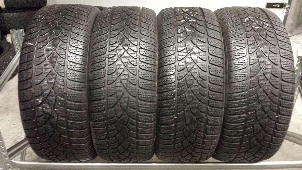 Dunlop SP Winter Sport 3D apie 7mm, Žieminės 245/45 R19